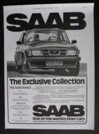 ORIGINAL 1977 MAGAZINE ADVERT FOR SAAB 99 CARS - Other