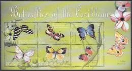 Grenada Grenadinen Grenadines 2000 Tiere Animals Schmetterlinge Butterflies Papillion Mariposa Farfalle, Mi. 3211-6 ** - Grenada (1974-...)