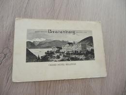 CPA Suisse Swizerland  Berne Grand Hôtel Bellevue Beatenberg - BE Berne