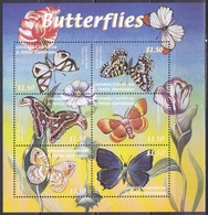 Grenada Grenadinen Grenadines 2000 Tiere Animals Schmetterlinge Butterflies Papillion Mariposa Farfalle, Mi. 3225-0 ** - Grenade (1974-...)
