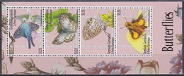 Grenada Grenadinen Grenadines 2014 Tiere Animals Schmetterlinge Butterflies Papillion Mariposa Farfalle, Mi. 4888-1 ** - Grenada (1974-...)