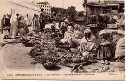 Marché Au Maroc - Marchands De Légumes - édition Des Magasins Modernes 1001 - Maroc