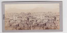 Stereoscopische Kaart.   ITALIE.  Panorama Du Golfe De Naples - Cartes Stéréoscopiques