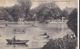 AM03 Coln Lindenthal, Stadtwald Mit Hauprestaurant - Lake, Rowing Boats - Koeln