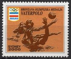 Water Polo - 2000 Summer Olympics Sydney Australia Yugoslavia CINDERELLA LABEL VIGNETTE - MNH - Water-Polo
