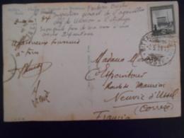 Vatican , Carte De 1934 Pour Neuvic D Ussel - Vatican