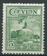 Ceylan -   Yvert N ° 281  **    - Po 62007 - Sri Lanka (Ceylon) (1948-...)