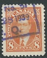 Canada      Yvert N ° 195 Oblitéré      - Po 62010 - 1937-1952 Règne De George VI