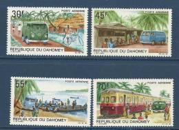 "Dahomey Aerien YT 85 à 88 (PA) "" Poste Automobile Rurale "" 1968 Neuf** - Benin – Dahomey (1960-...)"