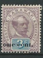 Sarawak     - Yvert N° 23 *     Po 62030 - Sarawak (...-1963)