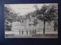 01  ARGIS  Mairie  Et  Ecoles - France