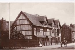 AN08 Shakespeare's Birthplace, Stratfor On Avon - Horse & Cart - Stratford Upon Avon