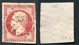 France Classique, N°17Aa Oblitéré, Qualité Beau - 1853-1860 Napoléon III