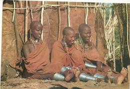 KENIA--MASAI GIRLS  1984 - Kenia