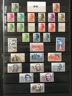 1982 ANNEE COMPLETE LUXE ** - Timbres émis En Feuille, Poste Aérienne, Roulette N° Rouge, Bloc Et Carnet - NEUF - 1980-1989
