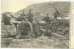 Belle Cpa  1090.  CHATILLON . Souvenir De L'année Terrible 1870.71  Batterie Extérieure.  Le Louis XIV - Militaria