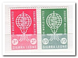 Sierra Leone 1962, Postfris MNH, Fight Against Malaria - Sierra Leone (1961-...)