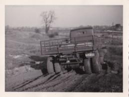 AR17 Photograph - Truck In A Muddy Field - Cars