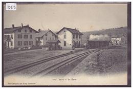 DISTRICT DE MORGES - YENS - LA GARE - TRAIN - BAHN - TB - VD Vaud