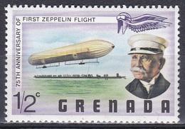 Grenada 1978 Transport Luftfahrt Aviation Luftschiff Zeppelin Airship Persönlichkeiten Ferdinand Zeppelin, Mi. 872 ** - Grenada (1974-...)