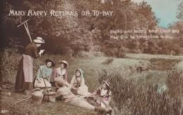 AP40 Greetings - Birthday - Picnic By The Stream - Birthday