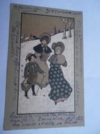 CPA E. PARKINSON - M. M.  VIENNE Nr 195 - 1er Janvier 1910 - Parkinson, Ethel