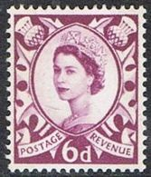 Scotland SG S3p 1963 Phosphor 6d Unmounted Mint [16/15178/25D] - Regional Issues