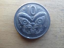 New Zealand   10  Cents  1975  Km 41.1 - Nouvelle-Zélande