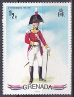 Grenada 1971 Militär Military Armee Army Uniformen Uniforms Infanterie Infantry Regiment, Mi. 872 ** - Grenada (1974-...)