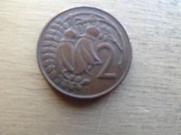 New Zealand  2  Cents  1971  Km 32.1 - Nouvelle-Zélande