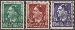 Polonia Governo Provvisorio 1944 Michel N°117-119 3v (*) - Algemene Overheid