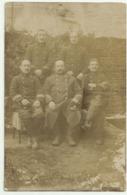 BELLE CARTE PHOTO  De SOLDATS - Personnages