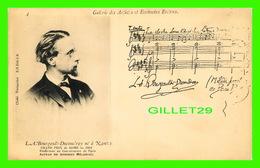 CÉLÉBRITÉS ÉCRIVAIN - LOUIS ALBERT BOURGAULT-DUCOUDRAY NÉ À NANTES 1840-1910 - GRAND PRIX DE ROME 1962 -  TOURANCHET  - - Ecrivains