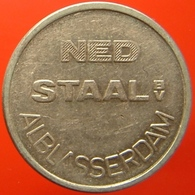 KB309-1 - NED STAAL - Alblasserdam - WM 20.0mm - Koffie Machine Penning - Coffee Machine Token - Professionnels/De Société