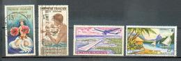 POLY 248 - YT PA 1-5-7-9 ° Obli - Airmail