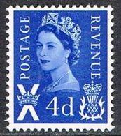 Scotland SG8 1967 4d Unmounted Mint [16/15183/25D] - Regional Issues