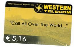 TESSERA WESTERN € 5.16 (  ) - Phonecards