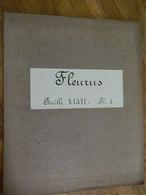 FLEURUS + LIGNY  + MILITARIA :TRES RARE CARTE MILITAIRE DE FLEURUS ET ENVIRONS 1860-1870 - Documents