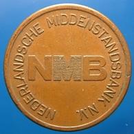 KB310-1 - NMB NEDERLANDSE MIDDENSTANDSBANK N.V. - Amsterdam - Cu 22.5mm - Koffie Machine Penning - Coffee Machine Token - Professionals/Firms
