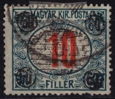 1919 Romania Occupation / Temesvár Timisoara  - Hungary - DUE Stamp Overprint - MH - 60/10 F - Transylvania - Transylvanie