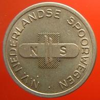 KB311-2 - NS N.V. NEDERLANDSE SPOORWEGEN - Utrecht - Cu 22.5mm - Coffee Machine Token - Railways - Eisenbahnen - Professionnels/De Société