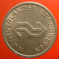 KB311-3 - N.V. NEDERLANDSE SPOORWEGEN - Utrecht - WM 22.5mm - Coffee Machine Token - Railways - Eisenbahnen - Professionnels/De Société