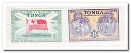 Tonga 1951, Postfris MNH, Flag, Coat Of Arms - Maleisië (1964-...)