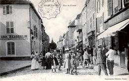 88. VOSGES - NEUFCHÂTEAU. Rue De France. Boucherie Remy - Neufchateau