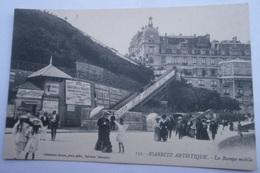 CPA 64 - BIARRITZ LA RAMPE MOBILE - 112 - Biarritz