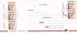 32060. Carta Aerea Certificada SAN FELIX (Bolivar) Venezuela 1981. Stamp PI I SUNYER - Venezuela