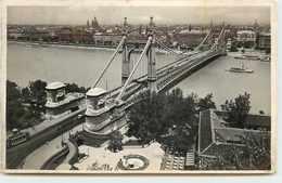 HONGRIE BUDAPEST PONTELISABETH - Hongrie