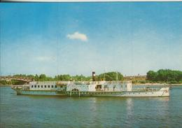 Warschau V. 1976  Baltyk Ein Schiff Mit Blick Auf Das Stadion Des 10. Jubiläums In Warschau überquert  (56020) - Poland