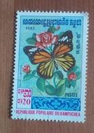 "Papillon ""Salatura Genutia"" (Insecte) - Kampuchea - 1983 - Kampuchea"