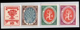 MiNr. 107-110 X Deutsches Reich - Deutschland